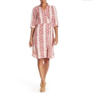 SUPERFOXX 3/4 Sleeve Shirt Dress